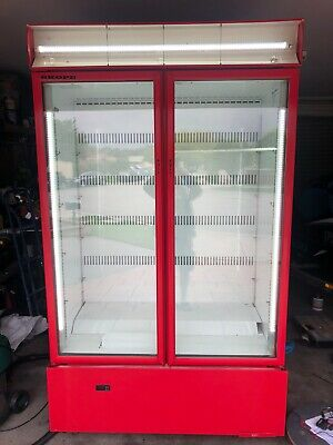 Skope Double Door Upright Fridge