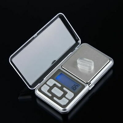 500g/0.1g Mini Digital LCD Electronic Jewelry Pocket Portable Weight Scale US KY
