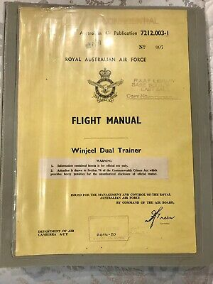 RAAF Winjeel Flight Manual Publication 7212.003-1
