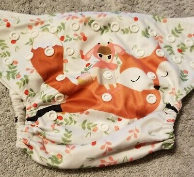 (I) Little Red RidingHood Cloth Pocket Diaper Size: OS