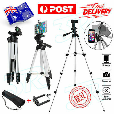 Professional Tripod Digital Camera DSLR Camcorder Video Mobile Phone AU NEW