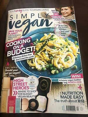 Simply Vegan Magazine May 2020 Mint Condition