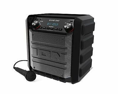 ION Audio Game Day Portable Bluetooth Wireless Rechargeable Speaker Portable 50W