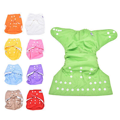 1x Sweet Alva Reusable Baby Washable Cloth Diaper Nappy +1INSERT pick color、 VY