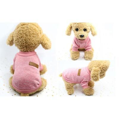 Pet Clothes Soft Thickening Warm Pup Knitwear Dog Sweater RCAI