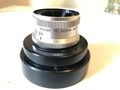 Minolta E.Rokkor F4.5  50mm Lens With Case, M39 mm Screw Mount