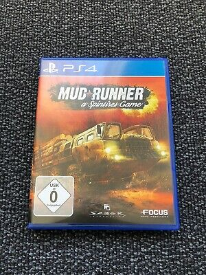 Playstation 4 Spiel PS 4 MudRunner Offroad Simulator Top Sandbox