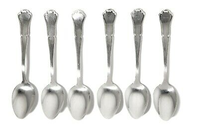 """Silver teaspoons, 6 pcs. """"Chippendale"""".  Finland, Kultakescus Oy, year 1992"""