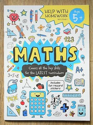 Maths Numeracy Year 1 Activity Book Workbook KS1 5 - 6 NEW School Home Learning