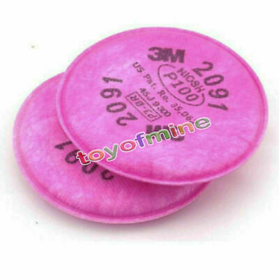 10pcs=5packs  2091 particulate filter P100 for 6000, 7000 series