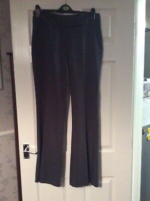 Dorothy Perkins Grey Trousers Size 12 Vgc