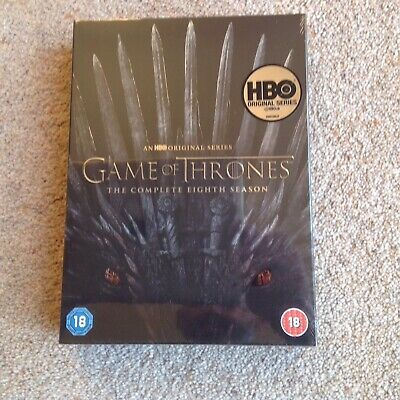 Game Of Thrones The Complete 8th Season  Dvd New/sealed