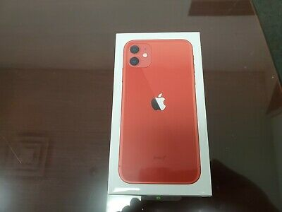 Apple iPhone 11 Red 64GB A2111 - Verizon Only - Sealed - Brand New