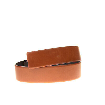 PLEIN SUD PAR FAYCAL AMOR Leather Waist Belt Size 40 / 70 / 28 Made in Italy