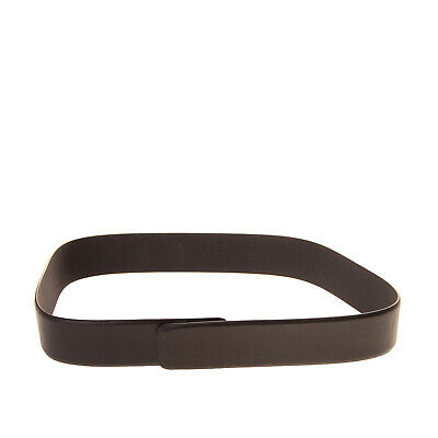 PLEIN SUD PAR FAYCAL AMOR Leather Waist Belt Size 42 / 90 / 36 Made in Italy
