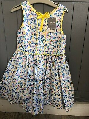 Next Age 4 Girls Floral Prom Dress Brand New With Tags