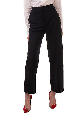 RRP €250 CEDRIC CHARLIER Tailored Trousers Size M Virgin Wool Blend Slit Cuffs