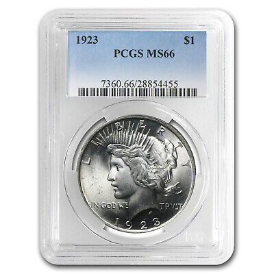 1922-1925 Peace Dollars MS-66 PCGS - SKU #64832