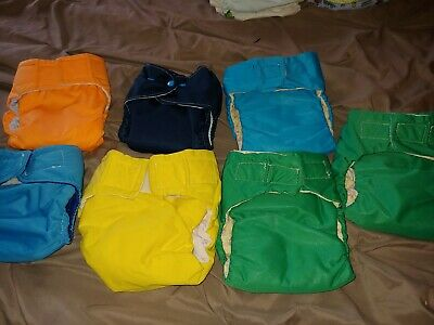 Cloth diapers size small meduim.