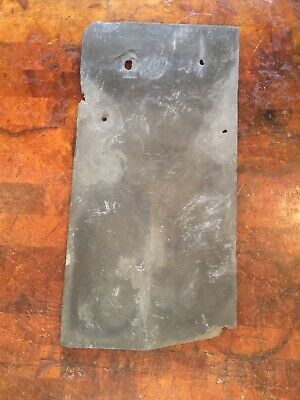 "1 Vintage Slate roofing shingle Used 18""x9"" Slate roof tile Wall Hanging Project"