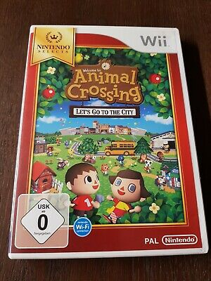 Animal Crossing: Lets Go to The City / Nintendo Selects Edition Wii