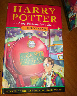 Harry Potter and the Philosopher's Stone 17th Print Bloomsbury 1997