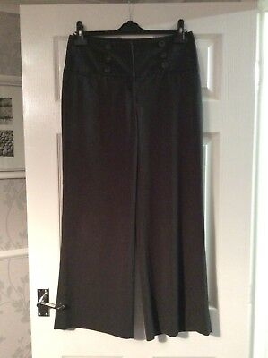 Dorothy Perkins Grey Trousers Size 10 Vgc