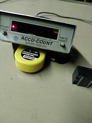 Martin-Yale Industries Accu-Count Counter