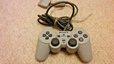 Official Sony DualShock Playstation 1 / PS1 / PS2 Analogue Controller / Gamepad