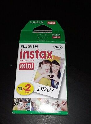 20 Shots Instax Mini Film for Fujifilm 8 7s & Mini 90 20 Shots