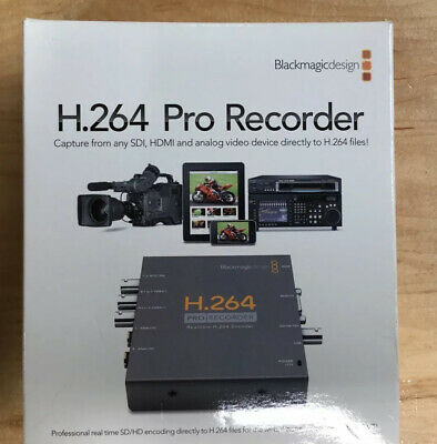 Blackmagic Design H.264 PRO Recorder - Open Box, -New