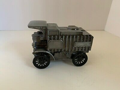 Vintage 1970's Mack Truck Advertising Cast Coin Bank