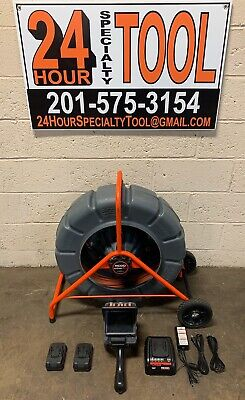 Ridgid SeeSnake 200' Color Pipe Inspection Sewer Camera Reel cs6x Monitor WiFi