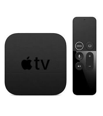 Apple TV (5th Generation) 4K HDR Media ,64GB, (MP7P2LL/A) - Black brand new
