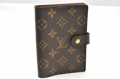 Authentic Louis Vuitton Monogram Agenda PM Day Planner Cover R20005 LV 93929