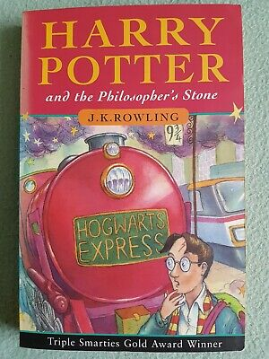 Harry Potter and the philosopher's stone. P/back 'Joanne Rowling' credit, errors