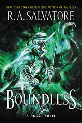 Salvatore R A-Boundless (UK IMPORT) HBOOK NEW