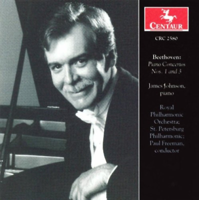 Johnson; Royal Philharmonic...-Piano Concertos Nos. 1 And 3 (US IMPORT) CD NEW