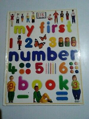 DK Books, My First Number Book, Kids, Maths, Childrens, Sorting, Shape