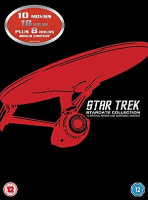 STAR TREK: STARDATE COLLECT...-STAR TREK: STARDATE COLLECTION (12P Blu-Ray NUOVO