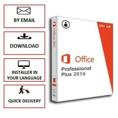 Microsoft Office Professional Plus 2019/2016/2013 PRO PLUS with INSTALLER