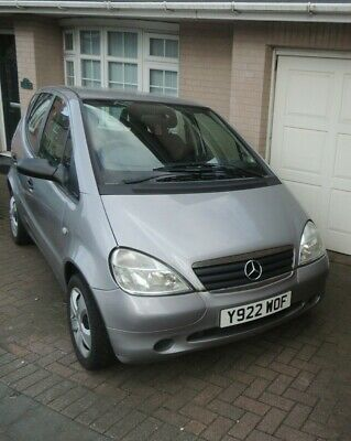 Mercedes Benz A Class 2001 A140 spares or repair no reserve & low start price