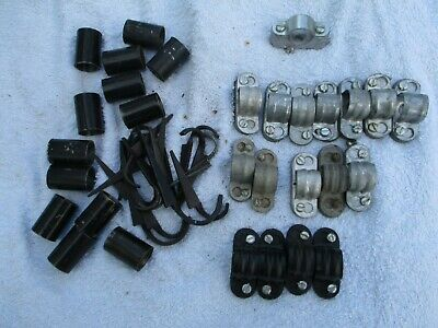 Metal conduit fittings leftover/job lot  20mm       See Photos.