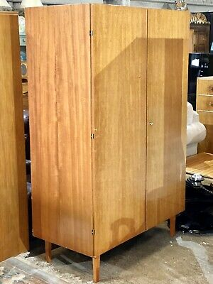 Mid Century Modern Danish Design Fitted Fitted Wardrobe Armoire