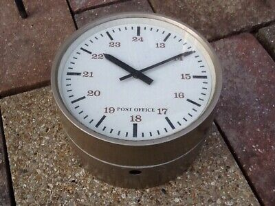 Vintage Double Sided Post Office GPO Clock!