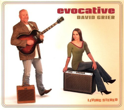 David Grier-Evocative CD NEUF