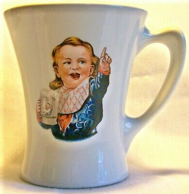 "Vintage Hire's Root Beer Advertising Mug Crush 1960+ 4""H"
