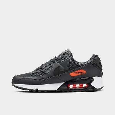 Brand New Nike Air Max 90 Athletic Basketball Leather Sneakers | Gray & Black