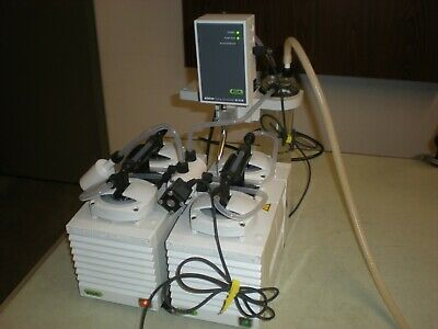 Buchi V-1000 Vacuum Pump with V-719 Controller - Powers up and Pulls a Vacuum