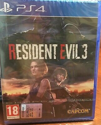 RESIDENT EVIL 3 PS4 Uk NUOVO SIGILLATO PLAYSTATION 4 RE 3 NEMESIS REMAKE